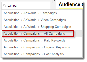 google-analytics-Acquisitio-campaings